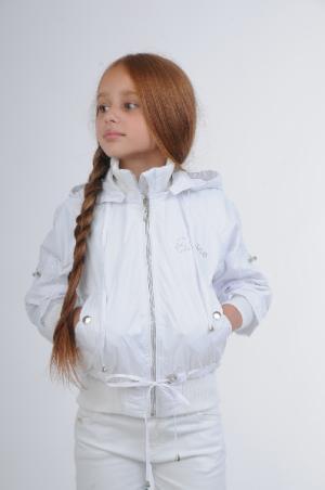 Куртка EVOLUTION. Цвет: белый