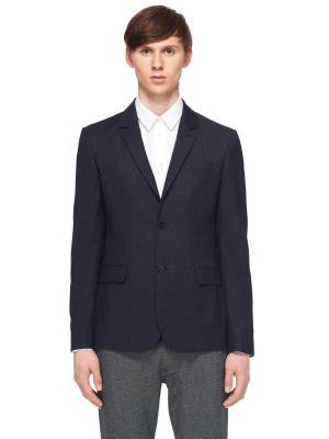 Костюмный пиджак CARVEN. Цвет: темно-синий