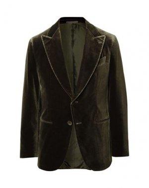 Пиджак CARUSO. Цвет: зеленый-милитари