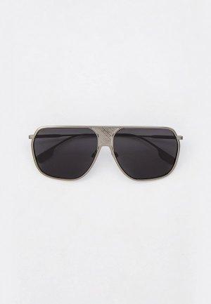Очки солнцезащитные Burberry BE3120 131687. Цвет: серебряный