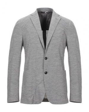 Пиджак HEVÒ. Цвет: светло-серый