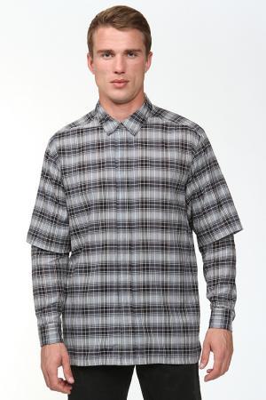 Рубашка Kris Van Assche. Цвет: серый