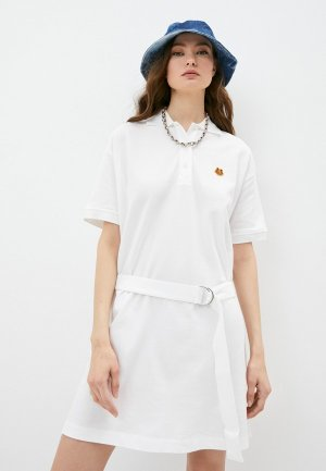 Платье Kenzo. Цвет: белый