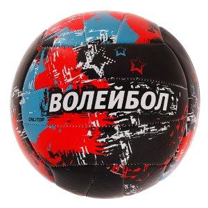 Мяч волейбольный aсе, размер 5, 18 панелей, pvc, 2 подслоя, машинная сшивка ONLITOP