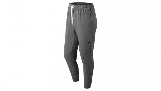 Брюки LIGHTWEIGHT NB WARM UP JOGGER New Balance. Цвет: черный