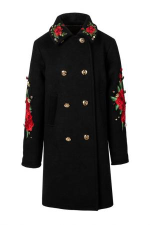 Пальто STEFANIA. Цвет: черный