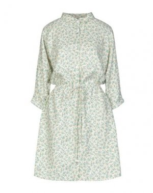 Короткое платье AMERICAN VINTAGE. Цвет: светло-желтый