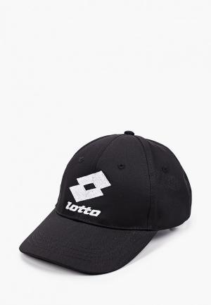Бейсболка Lotto CAP. Цвет: черный
