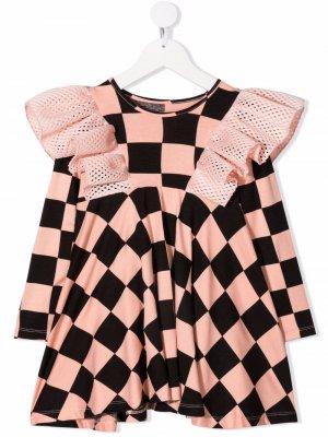 Платье-футболка Maya ограниченной серии WAUW CAPOW by BANGBANG. Цвет: розовый
