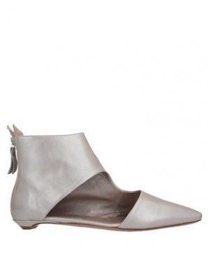 Полусапоги и высокие ботинки AGL ATTILIO GIUSTI LEOMBRUNI. Цвет: платиновый