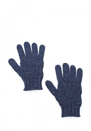 Перчатки United Colors of Benetton. Цвет: синий