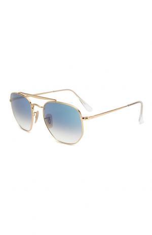 Солнцезащитные очки Ray-Ban. Цвет: синий