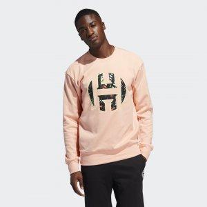 Флисовый джемпер Harden Performance adidas. Цвет: розовый