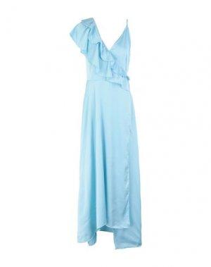 Длинное платье 2ND DAY. Цвет: небесно-голубой