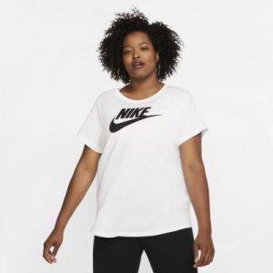 Женская футболка Sportswear Essential (большие размеры) - Белый Nike