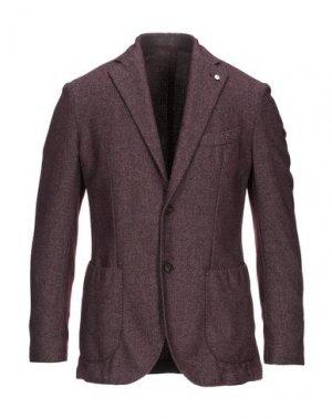 Пиджак L.B.M. 1911. Цвет: баклажанный