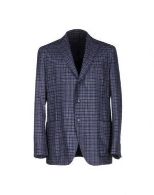 Пиджак EIDOS. Цвет: грифельно-синий