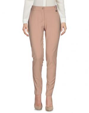Повседневные брюки FLY GIRL. Цвет: песочный