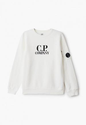 Свитшот C.P. Company. Цвет: белый
