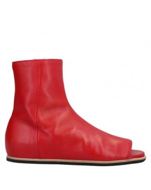 Полусапоги и высокие ботинки VIONNET. Цвет: красный
