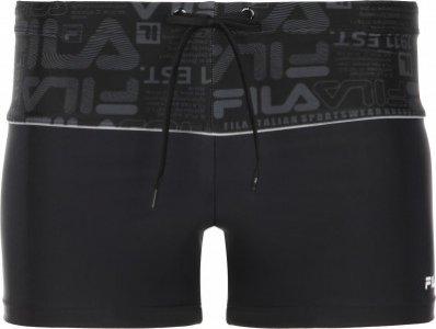 Плавки-шорты мужские , размер 50 FILA. Цвет: черный