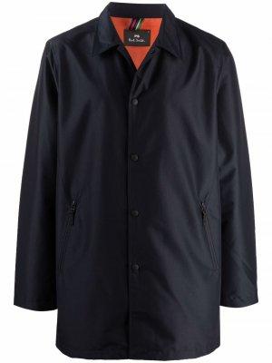 Легкая куртка PS Paul Smith. Цвет: синий