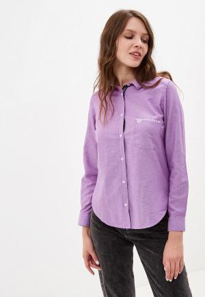 Рубашка Giorgio Di Mare. Цвет: фиолетовый