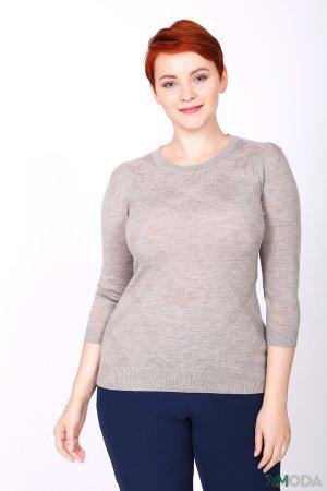 Пуловер Just Valeri. Цвет: бежевый