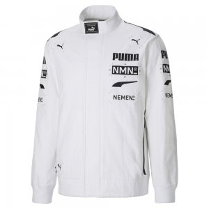Олимпийка x NEMEN Full-Zip Racing Mens Top PUMA. Цвет: белый