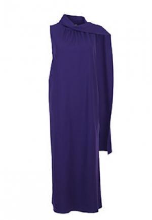 Платье ALBERTA FERRETTI. Цвет: фиолетовый