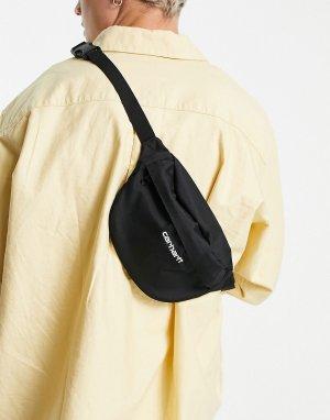 Черная сумка-кошелек на пояс -Черный цвет Carhartt WIP