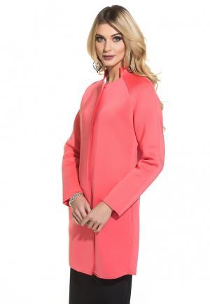 Пальто Gloss Jess. Цвет: розовый