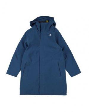 Куртка K-WAY. Цвет: пастельно-синий