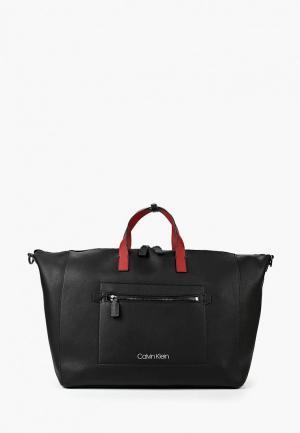 Сумка дорожная Calvin Klein Jeans CA939BMBTHV1. Цвет: черный