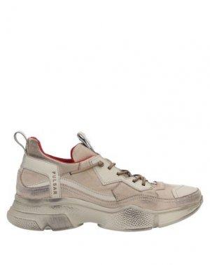 Низкие кеды и кроссовки BRUNO BORDESE. Цвет: песочный