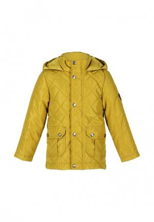 Куртка утепленная Талви. Цвет: желтый