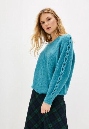 Пуловер Care of You. Цвет: зеленый