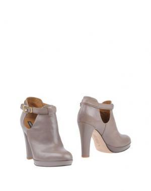 Ботинки ALBERTO FERMANI. Цвет: голубиный серый