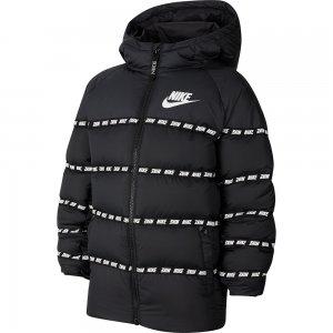 Down Jacket Nike. Цвет: черный