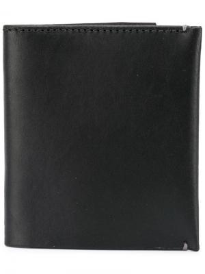 Тонкий бумажник Troubadour. Цвет: черный