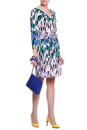Платье Tibi. Цвет: цветной