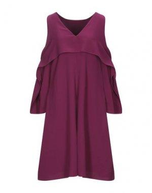 Короткое платье BEATRICE. Цвет: пурпурный