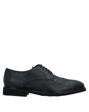 Обувь на шнурках ALBERTO GUARDIANI. Цвет: черный