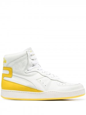 Высокие кроссовки Mi Basket Diadora. Цвет: белый