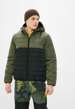 Куртка утепленная Element ALDER PUFF FUNDAMENT. Цвет: хаки