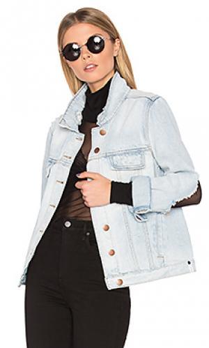 Джинсовая куртка rock n roller One Teaspoon. Цвет: синий