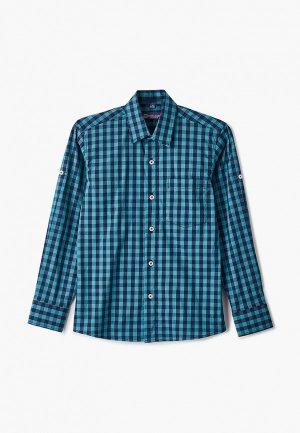 Рубашка Brostem. Цвет: зеленый