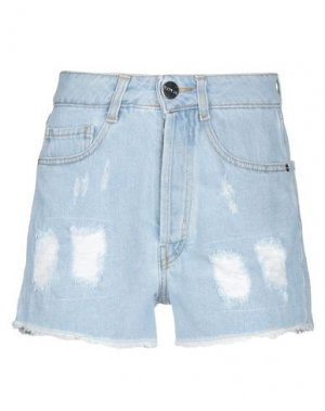 Джинсовые шорты TOY G.. Цвет: синий