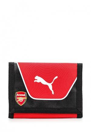 Кошелек Puma Arsenal Wallet red-black-white. Цвет: красный