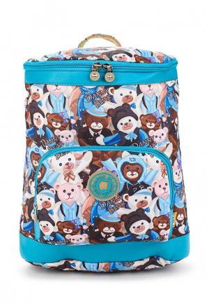 Рюкзак Danny Bear. Цвет: разноцветный